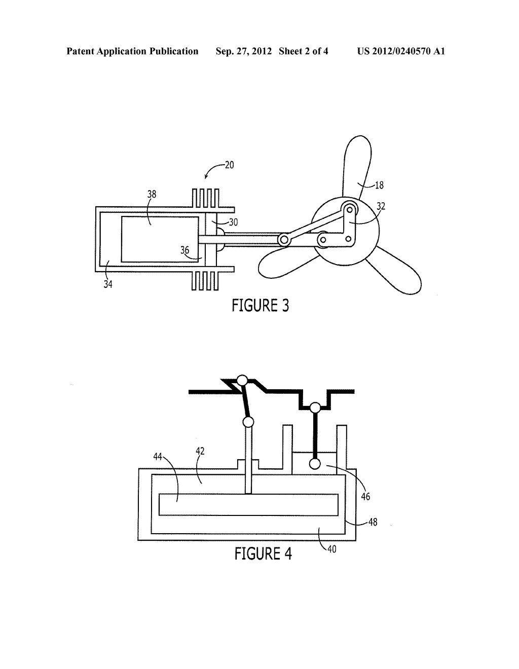 HEAT EXCHANGER AND ASSOCIATED METHOD EMPLOYING A STIRLING ENGINE - diagram, schematic, and image 03