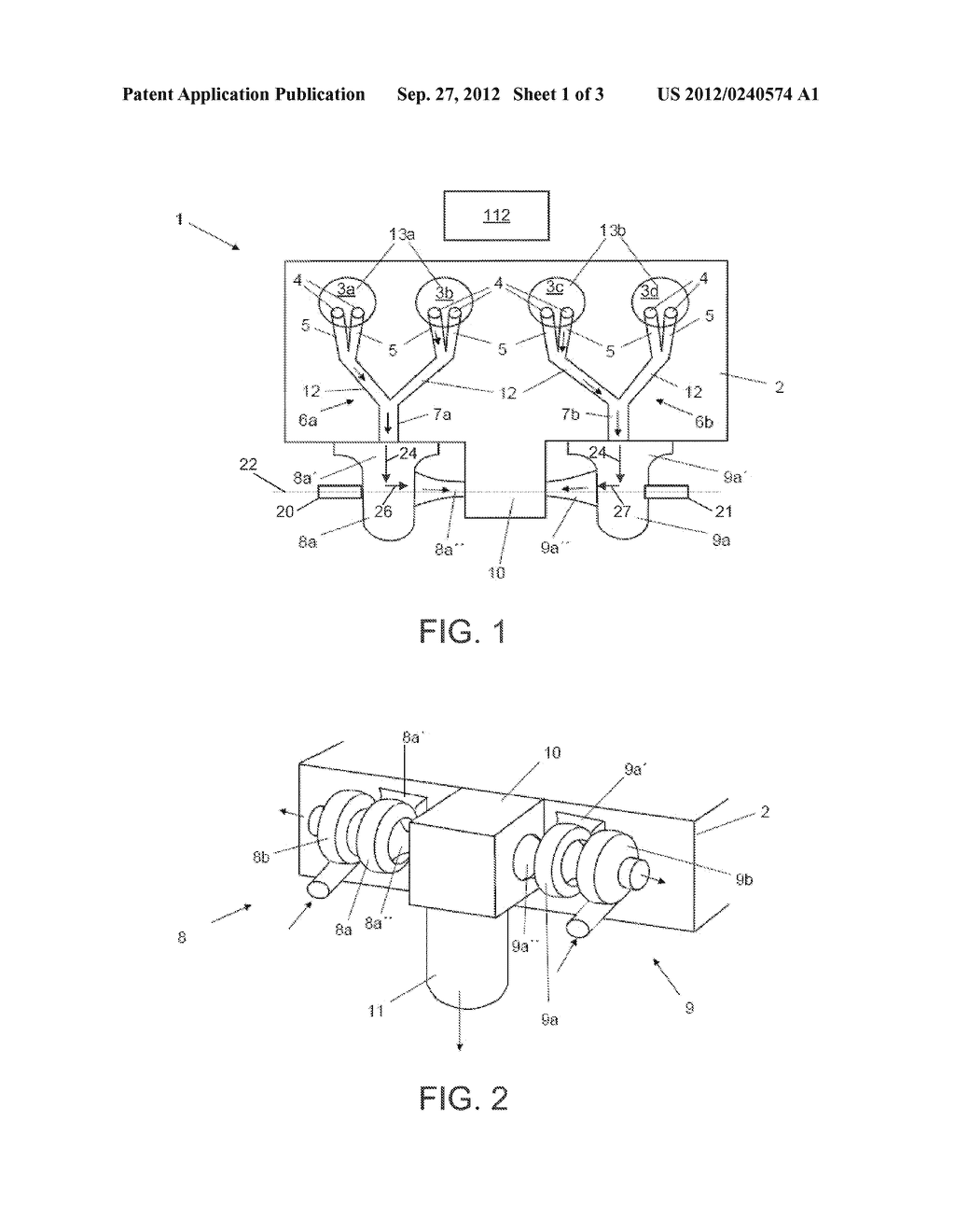INTERNAL COMBUSTION ENGINE EQUIPPED WITH TWO EXHAUST-GAS TURBOCHARGERS,     AND METHOD FOR OPERATING AN INTERNAL COMBUSTION ENGINE OF SAID TYPE - diagram, schematic, and image 02