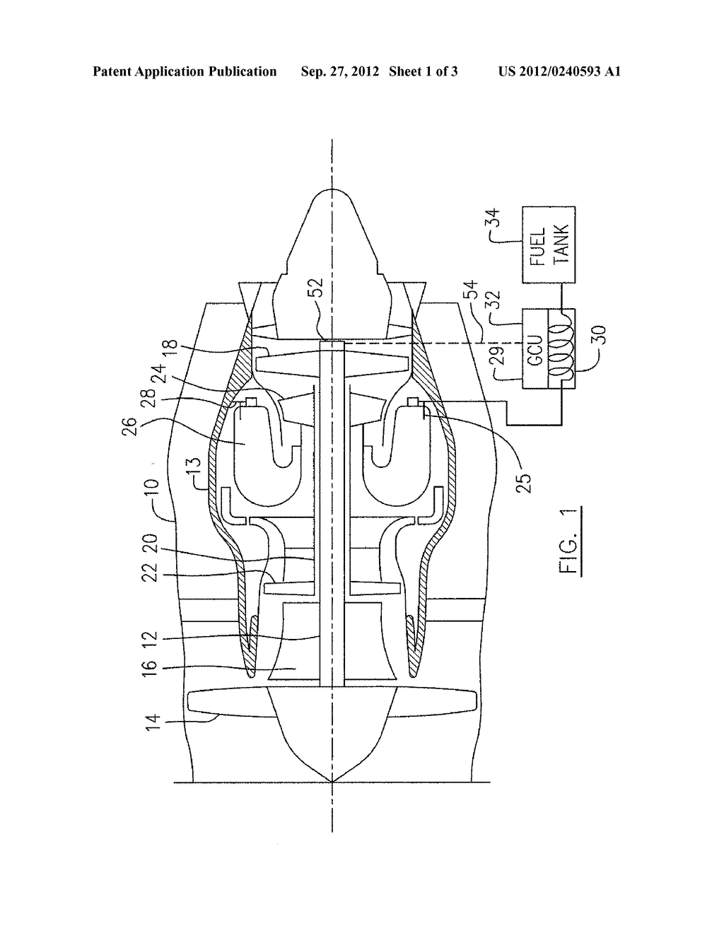 FUEL SYSTEM FOR GAS TURBINE ENGINE - diagram, schematic, and image 02