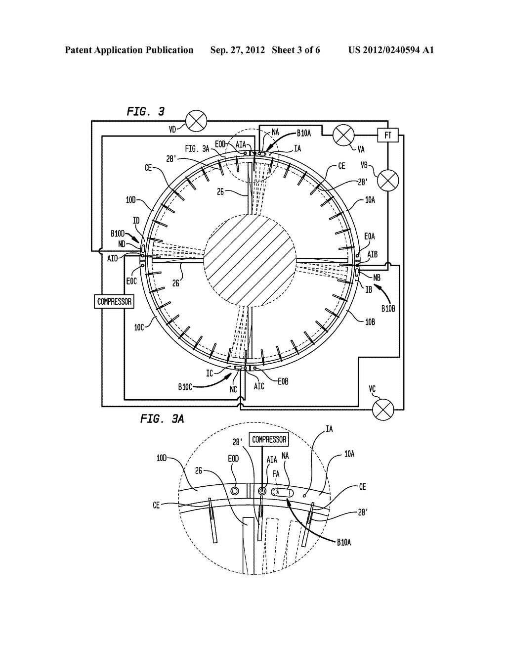 METHOD AND APPARATUS FOR PROTECTING AIRCRAFT ENGINES AGAINST ICING - diagram, schematic, and image 04