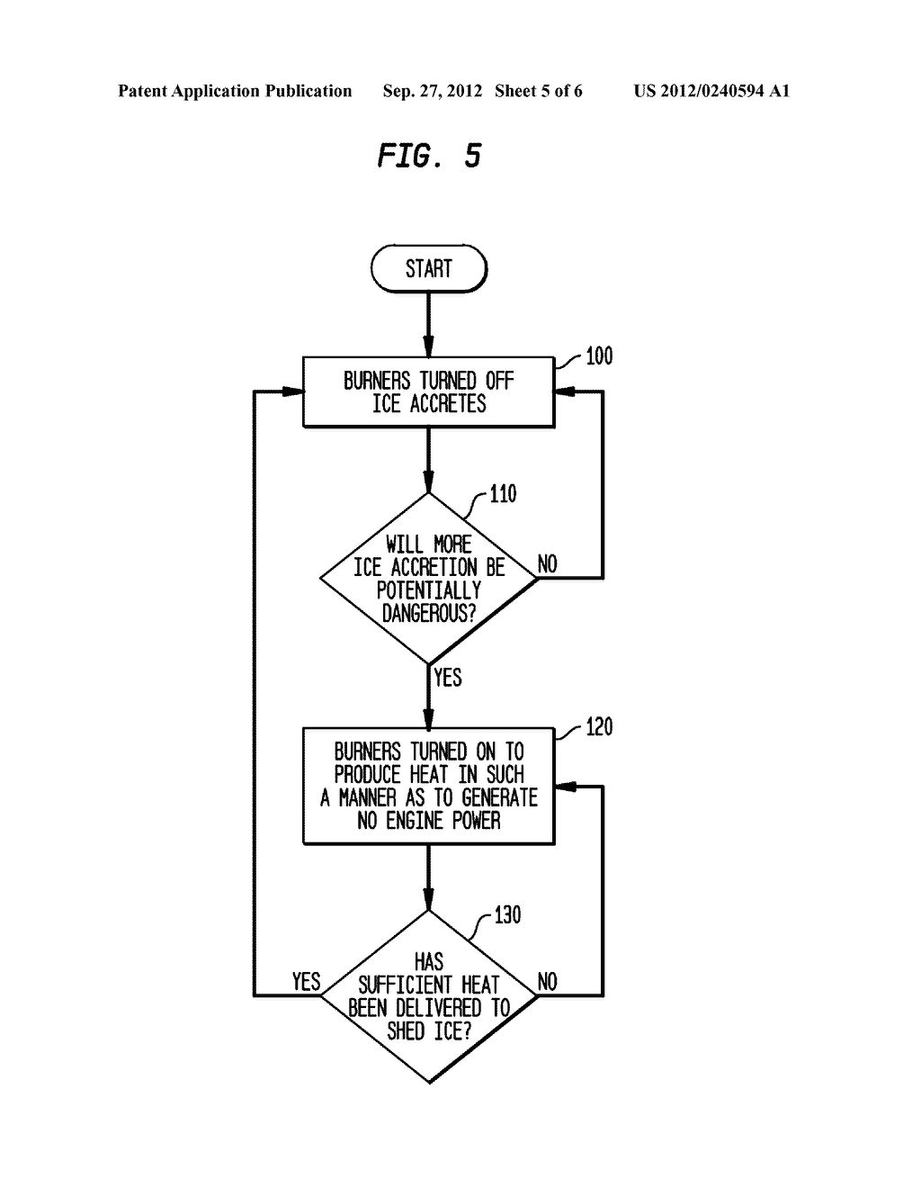 METHOD AND APPARATUS FOR PROTECTING AIRCRAFT ENGINES AGAINST ICING - diagram, schematic, and image 06