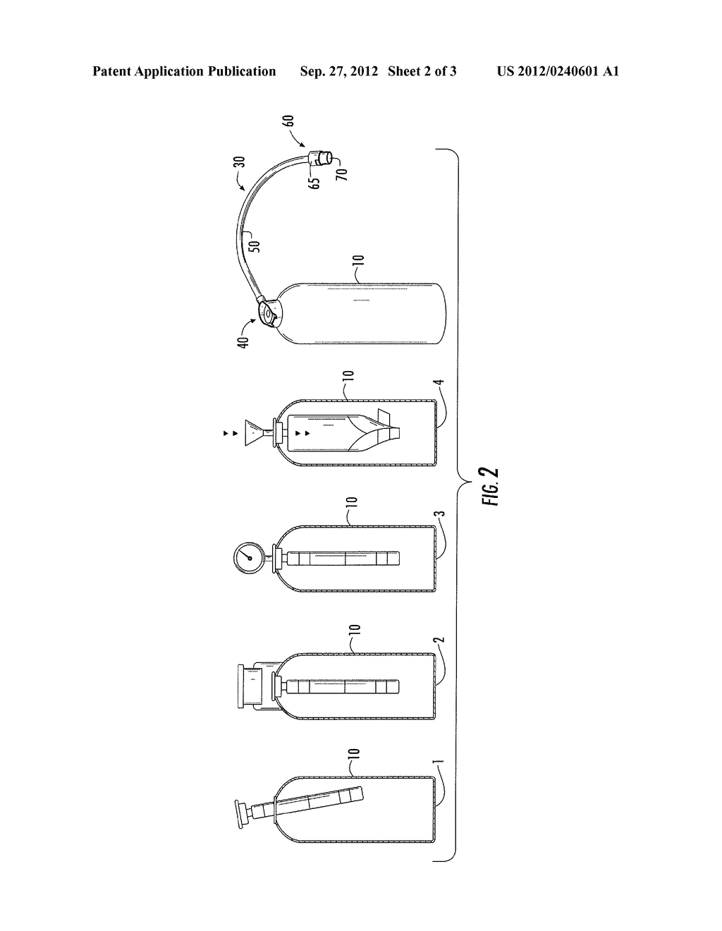METHOD AND APPARATUS FOR PROVIDING ADDITIVE FLUIDS TO REFRIGERANT CIRCUIT - diagram, schematic, and image 03