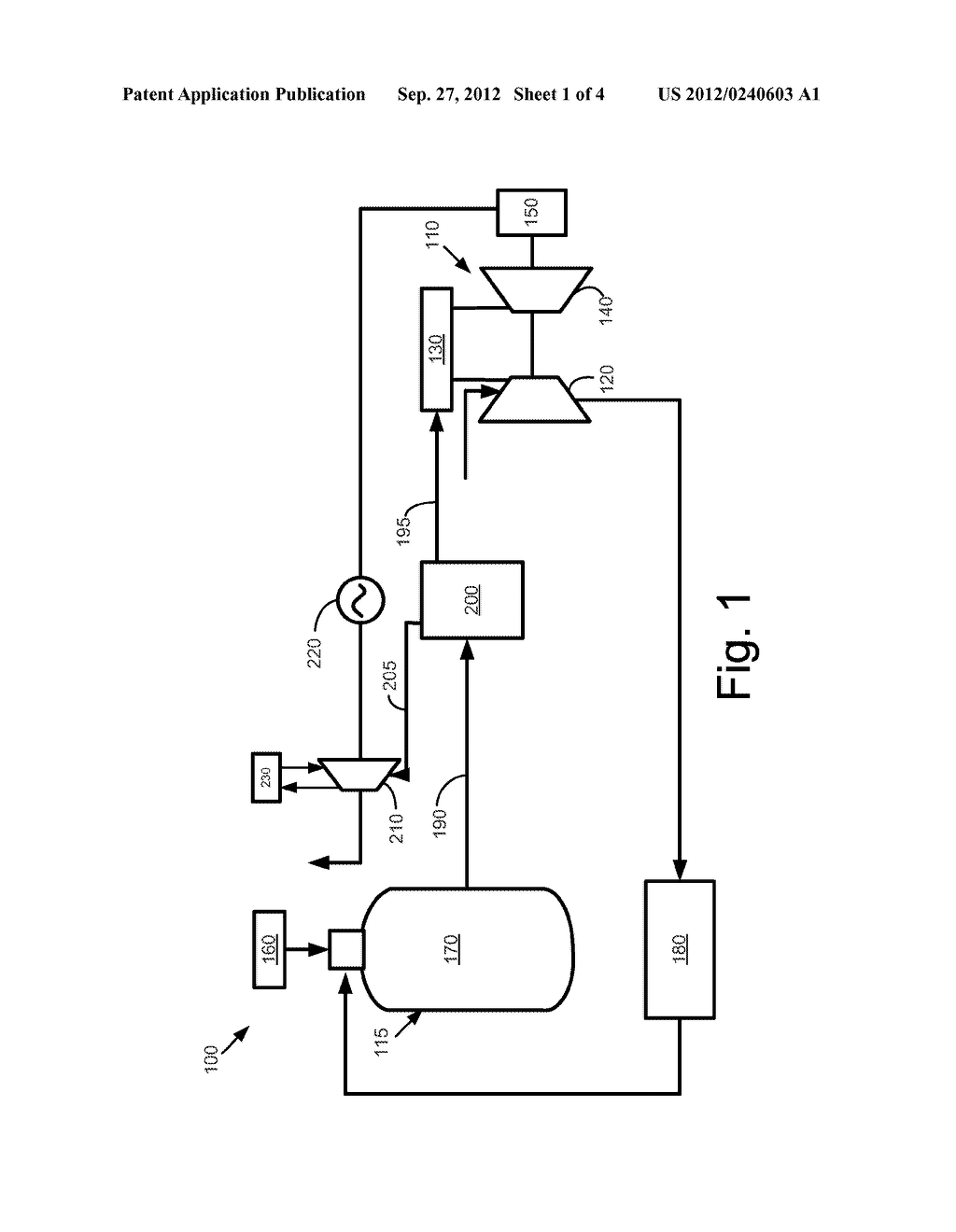 Integrated Gasification Combined Cycle System with Vapor Absorption     Chilling - diagram, schematic, and image 02