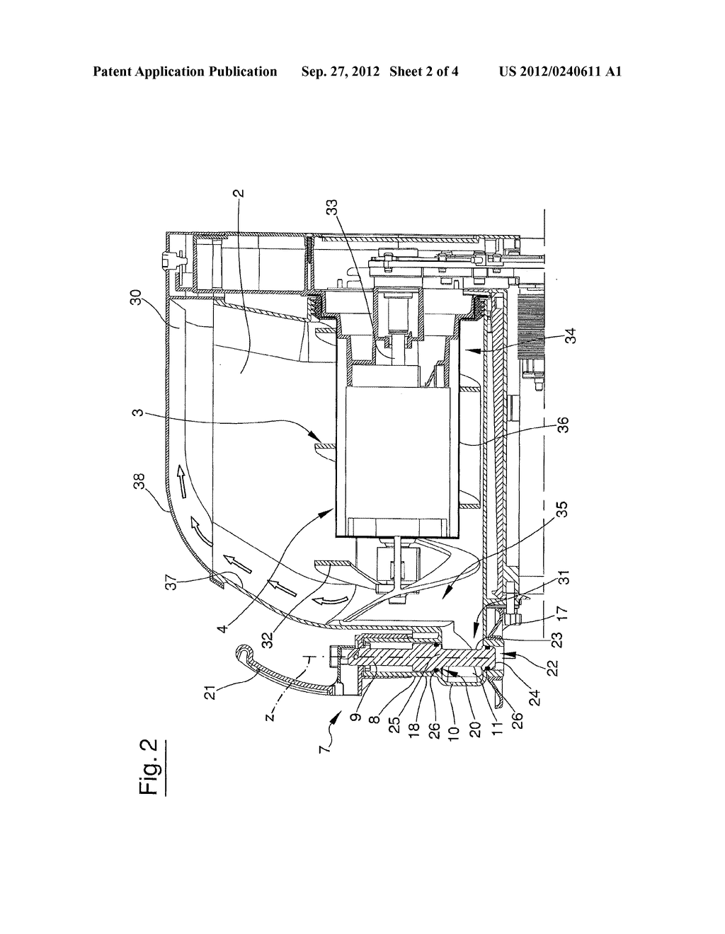 APPARATUS FOR DISPENSING A FOOD PRODUCT - diagram, schematic, and image 03