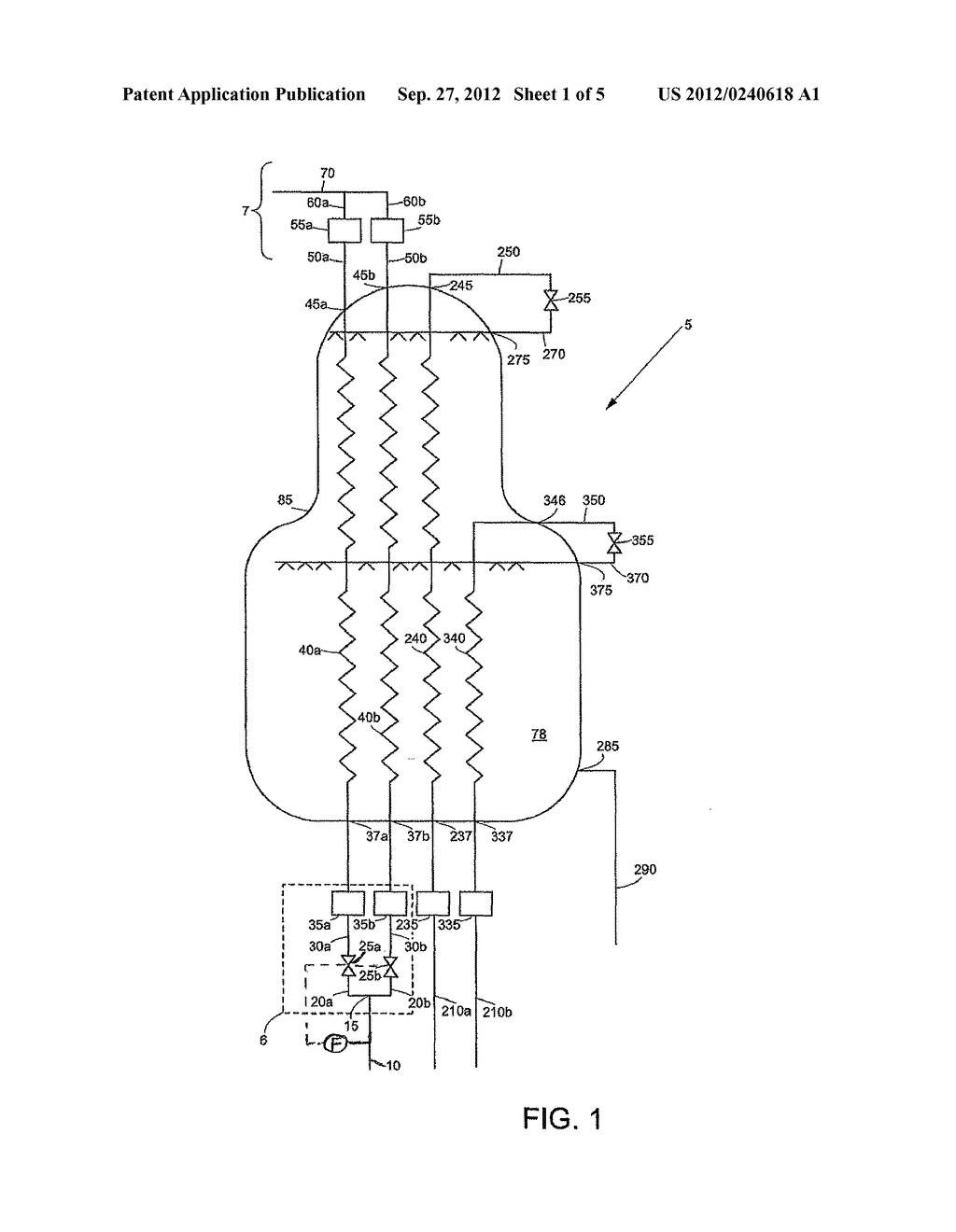 APPARATUS AND METHOD FOR COOLING AND LIQUEFYING A FLUID - diagram, schematic, and image 02