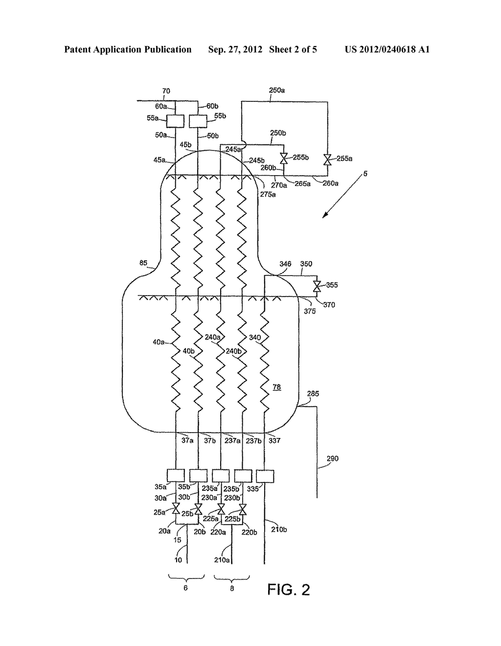 APPARATUS AND METHOD FOR COOLING AND LIQUEFYING A FLUID - diagram, schematic, and image 03