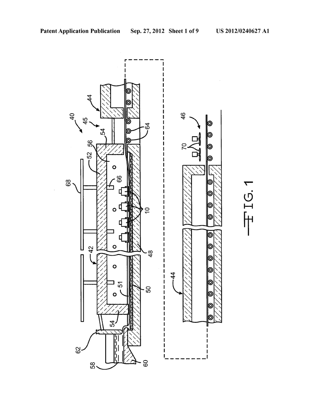 APPARATUS FOR DEPOSITING THIN FILM COATINGS AND METHOD OF DEPOSITION     UTILIZING SUCH APPARATUS - diagram, schematic, and image 02