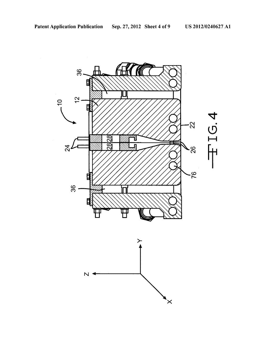 APPARATUS FOR DEPOSITING THIN FILM COATINGS AND METHOD OF DEPOSITION     UTILIZING SUCH APPARATUS - diagram, schematic, and image 05