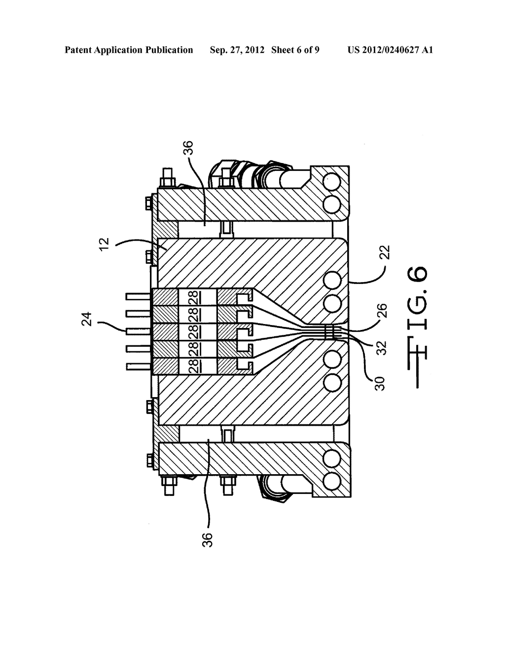 APPARATUS FOR DEPOSITING THIN FILM COATINGS AND METHOD OF DEPOSITION     UTILIZING SUCH APPARATUS - diagram, schematic, and image 07