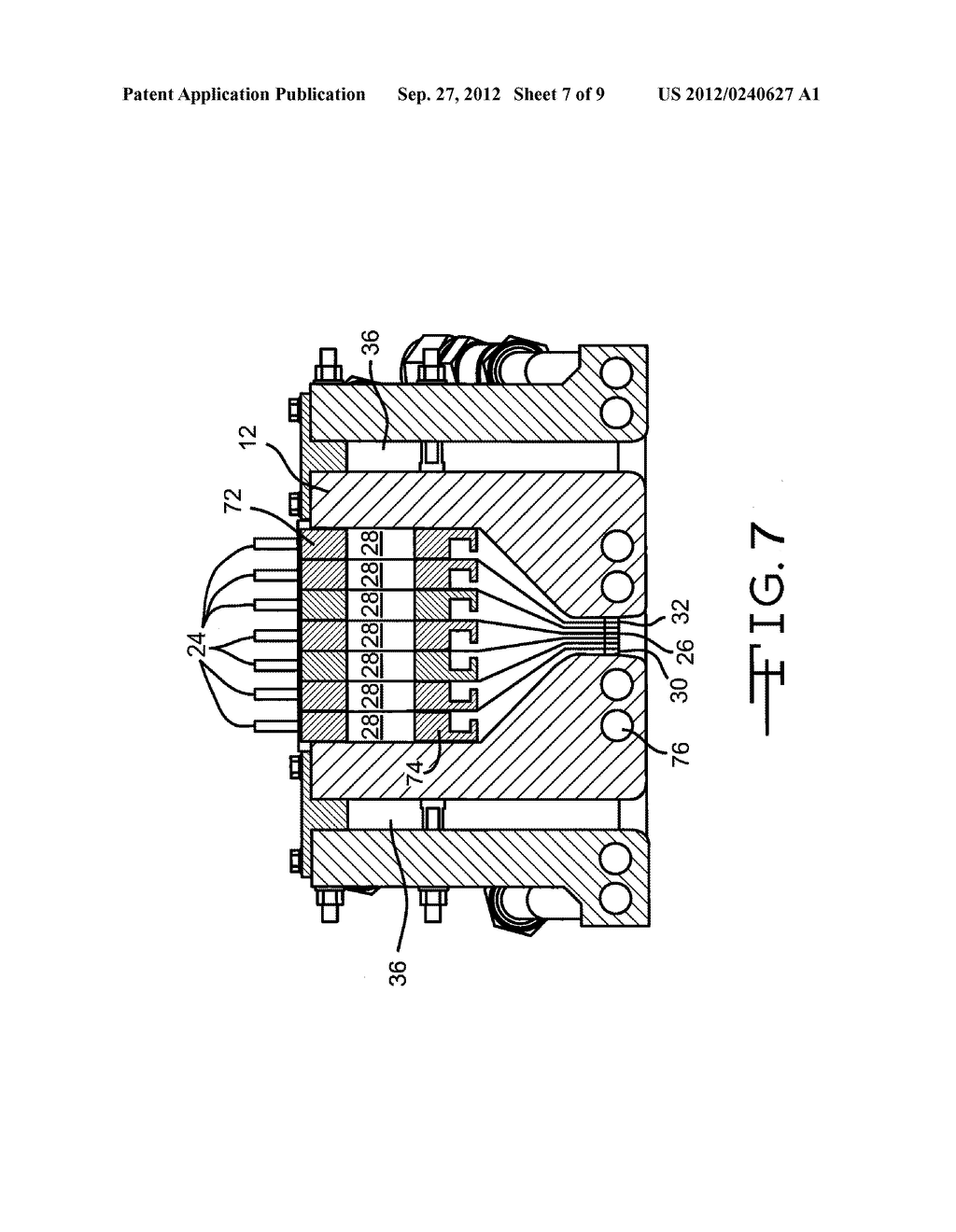 APPARATUS FOR DEPOSITING THIN FILM COATINGS AND METHOD OF DEPOSITION     UTILIZING SUCH APPARATUS - diagram, schematic, and image 08