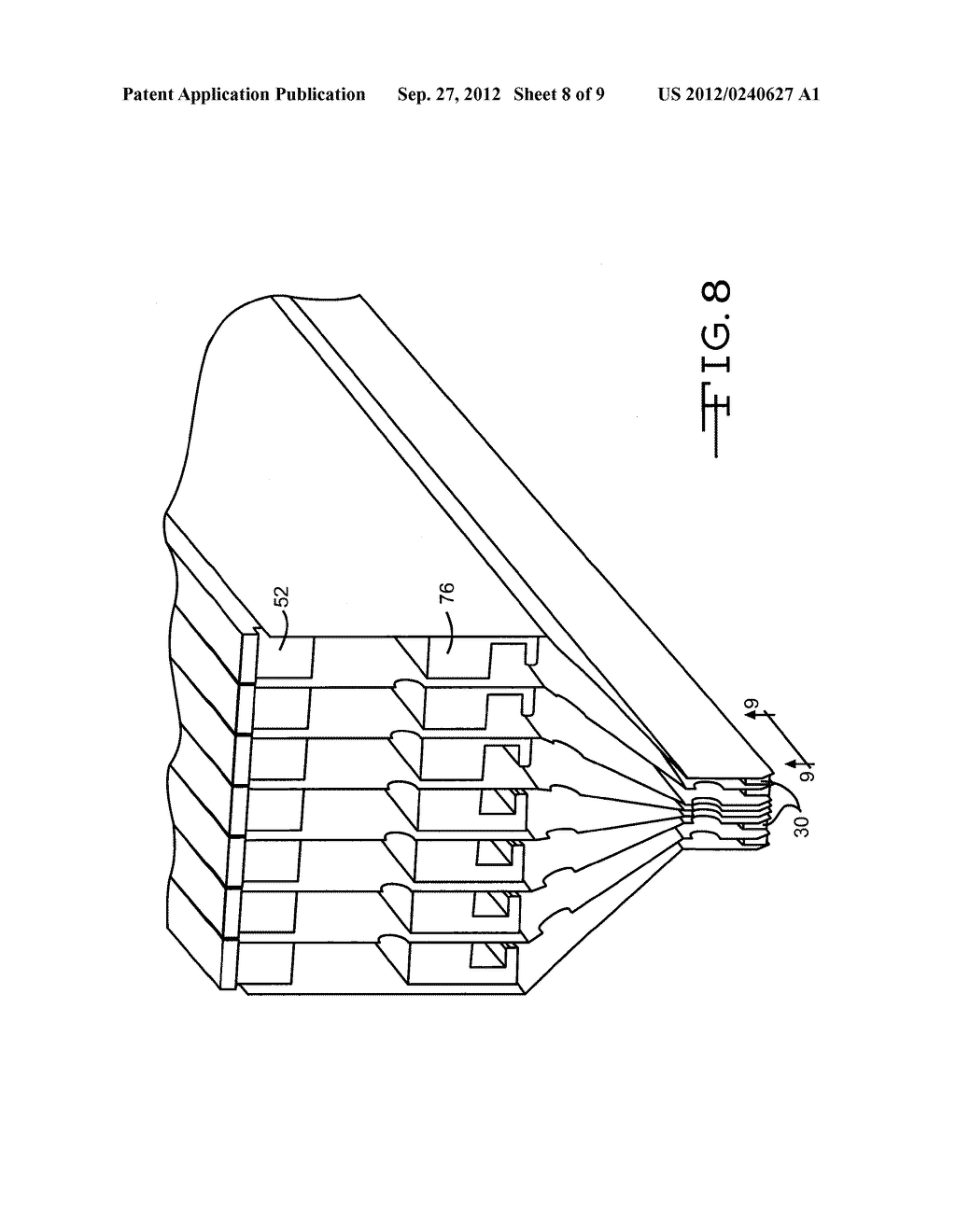 APPARATUS FOR DEPOSITING THIN FILM COATINGS AND METHOD OF DEPOSITION     UTILIZING SUCH APPARATUS - diagram, schematic, and image 09