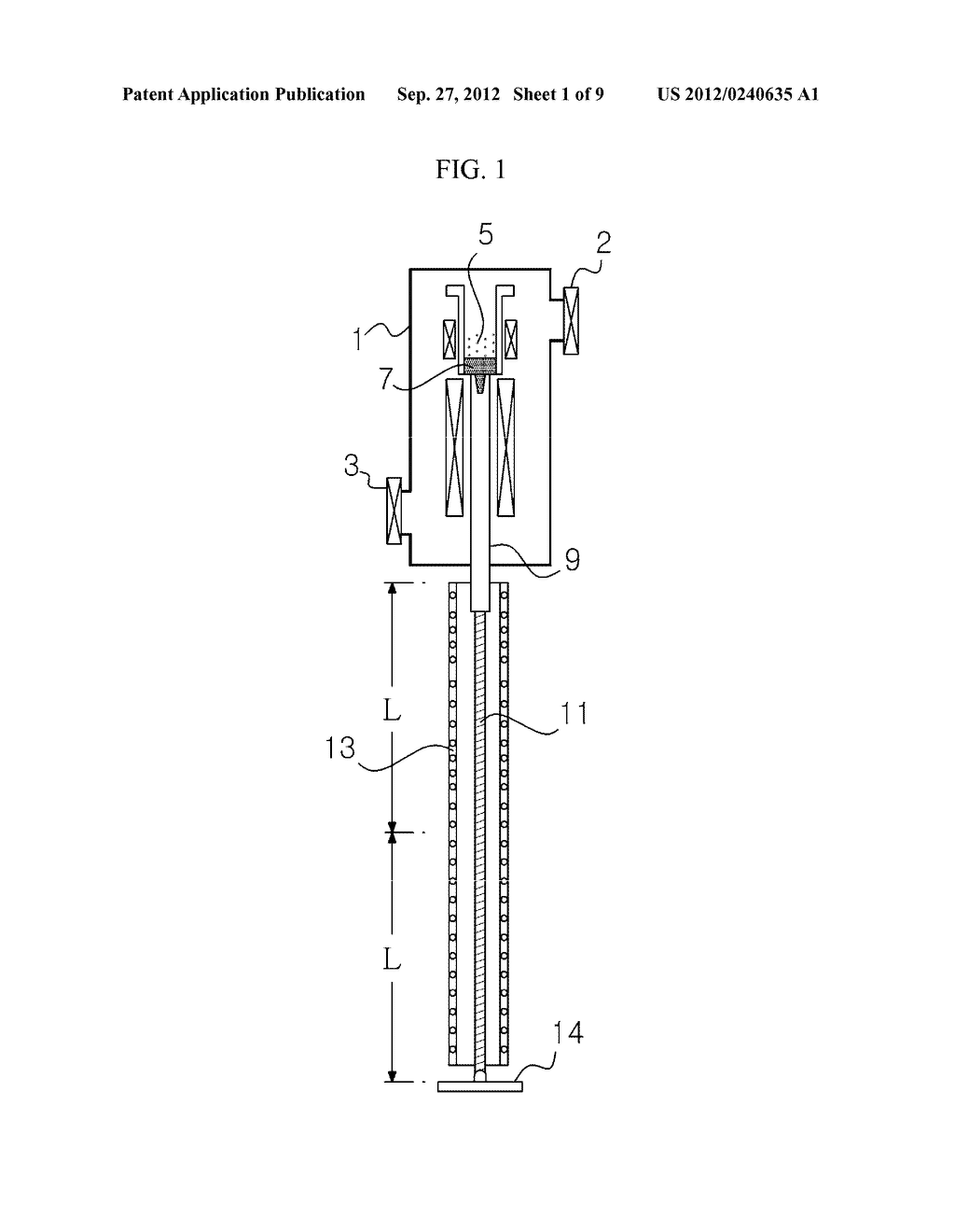 APPARATUS AND METHOD FOR EXTRACTING A SILICON INGOT - diagram, schematic, and image 02