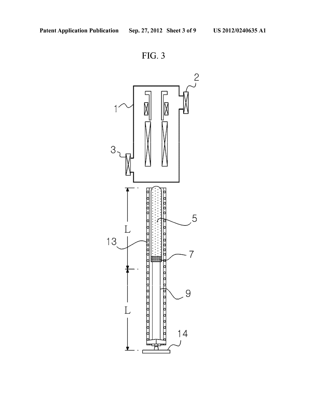 APPARATUS AND METHOD FOR EXTRACTING A SILICON INGOT - diagram, schematic, and image 04