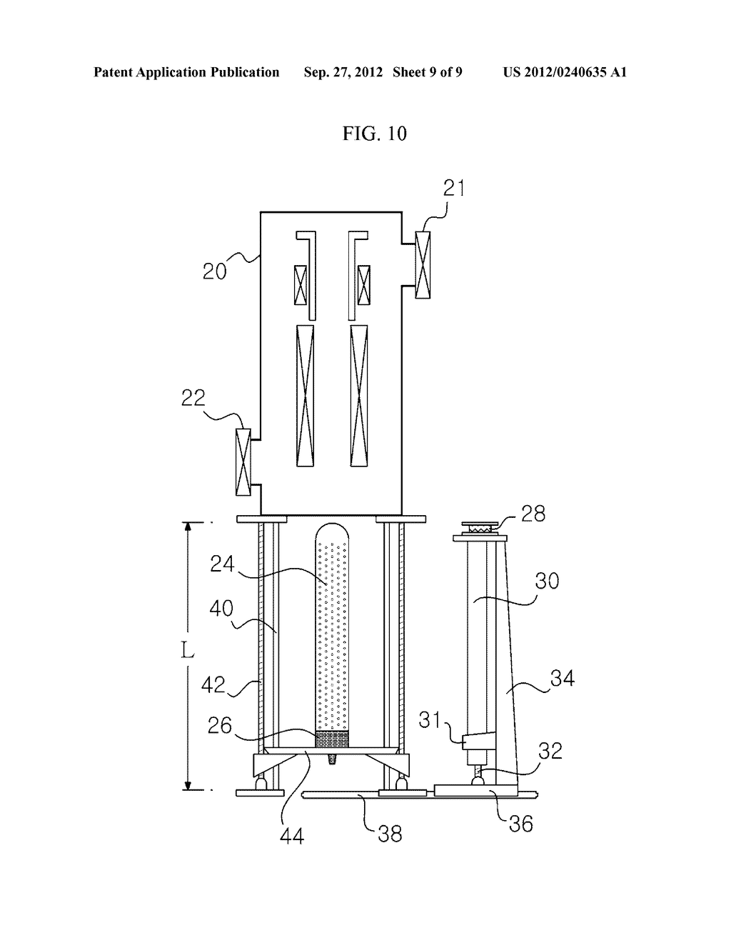 APPARATUS AND METHOD FOR EXTRACTING A SILICON INGOT - diagram, schematic, and image 10