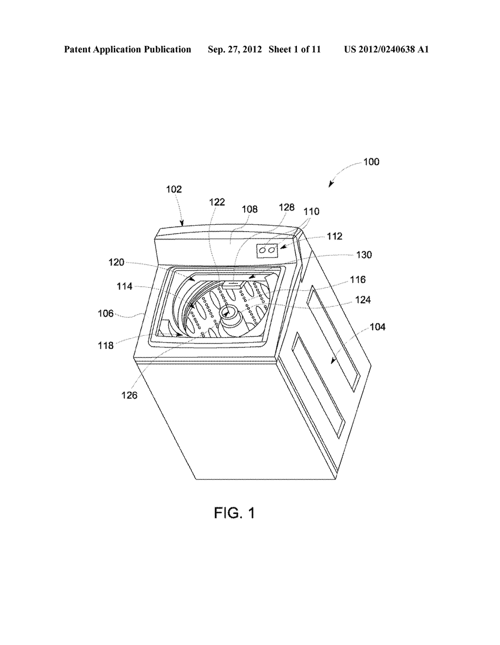 DEVICE AND METHOD FOR RINSING OBJECTS IN AN APPLIANCE - diagram, schematic, and image 02