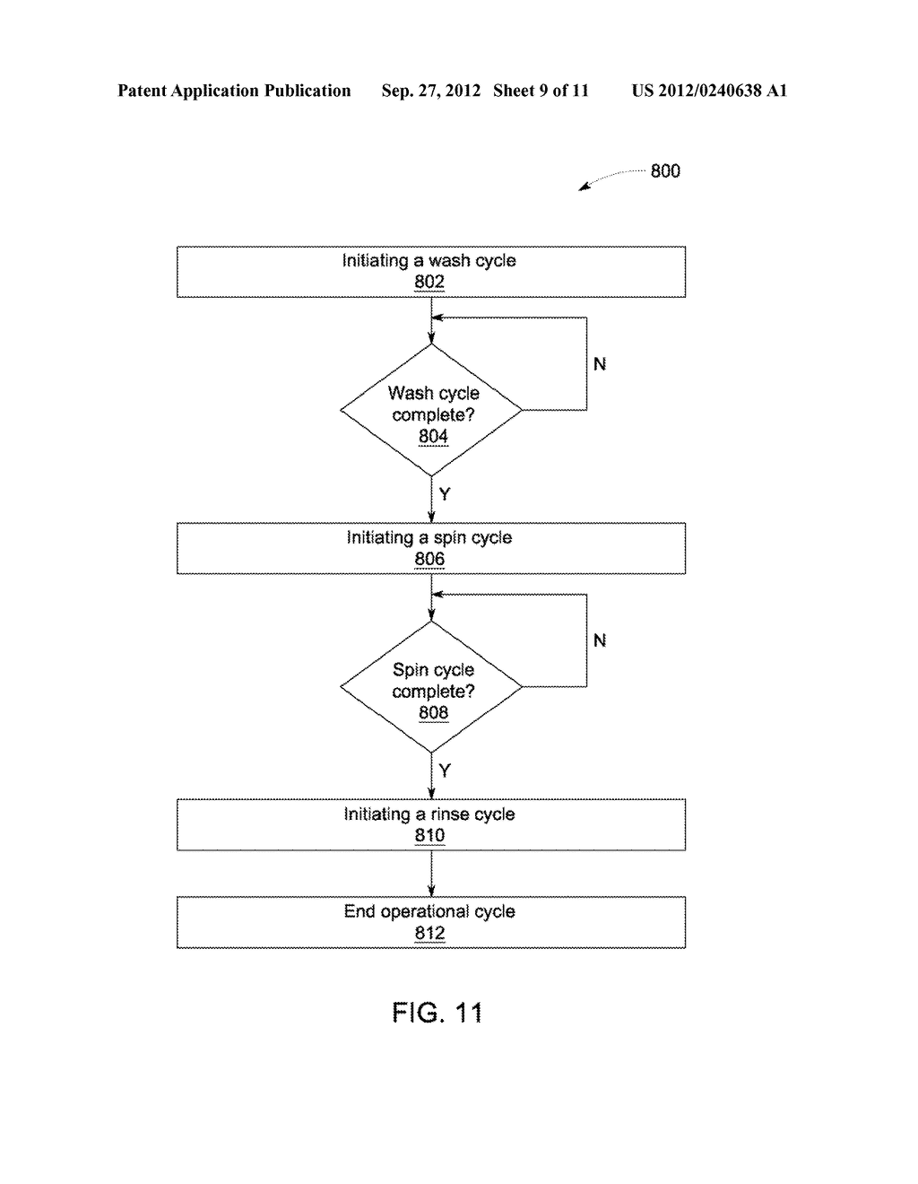 DEVICE AND METHOD FOR RINSING OBJECTS IN AN APPLIANCE - diagram, schematic, and image 10