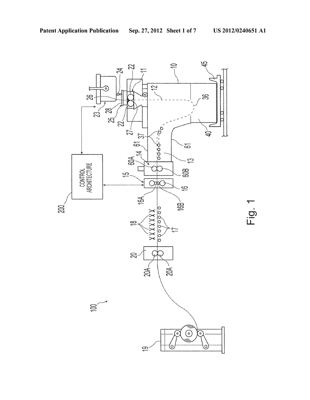 METHOD AND PLANT FOR INTEGRATED MONITORING AND CONTROL OF STRIP FLATNESS     AND STRIP PROFILE - diagram, schematic, and image 02