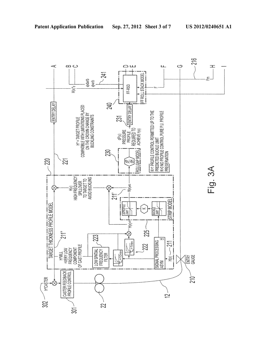 METHOD AND PLANT FOR INTEGRATED MONITORING AND CONTROL OF STRIP FLATNESS     AND STRIP PROFILE - diagram, schematic, and image 04