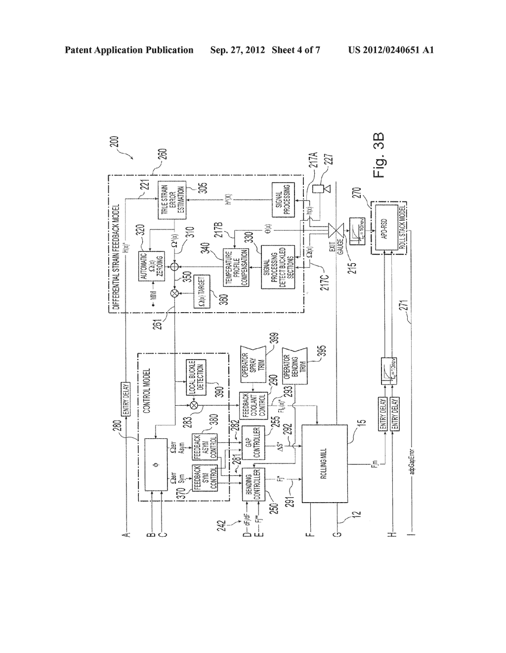 METHOD AND PLANT FOR INTEGRATED MONITORING AND CONTROL OF STRIP FLATNESS     AND STRIP PROFILE - diagram, schematic, and image 05
