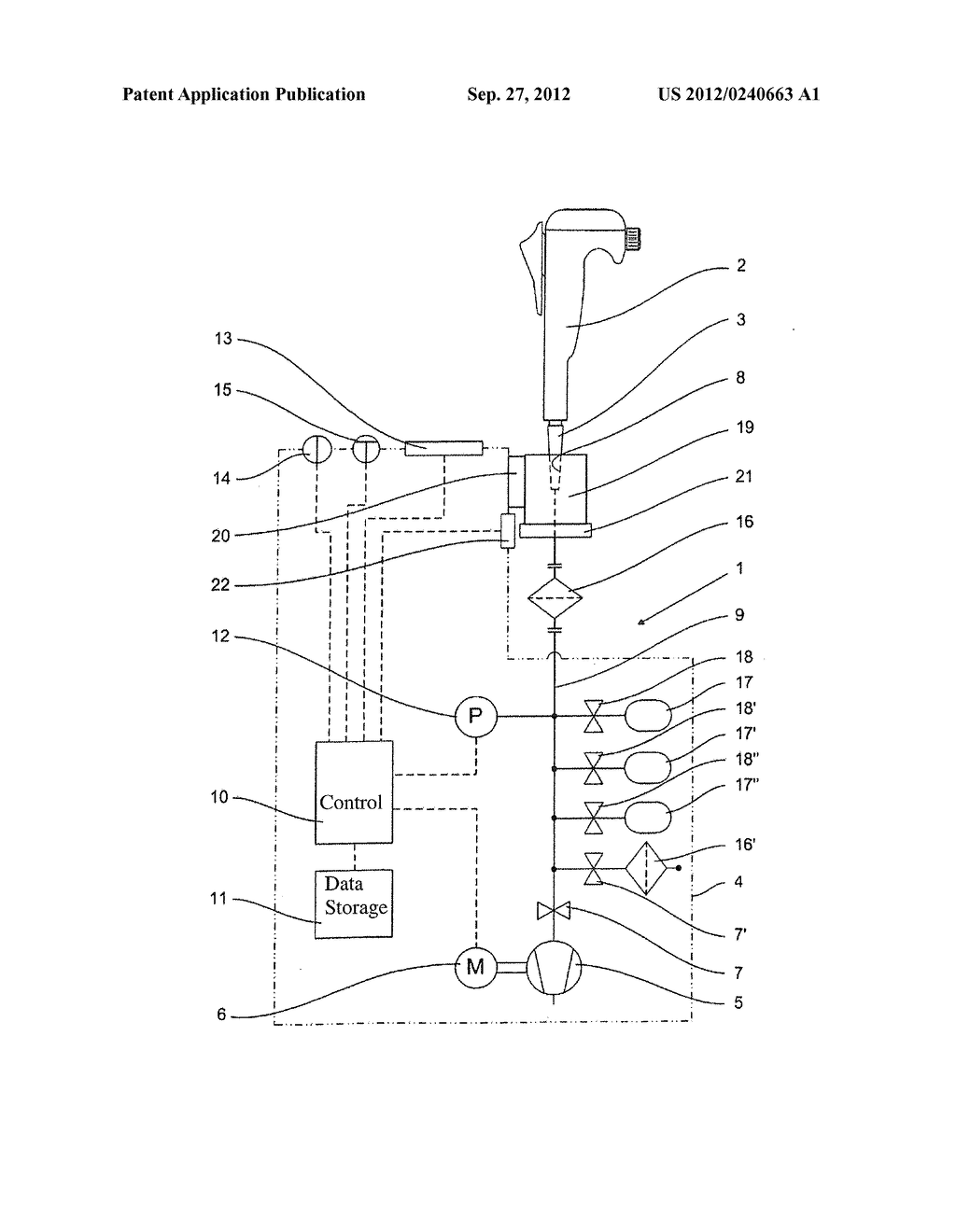 METHOD FOR LEAK-TESTING HAND-HELD PISTON STROKE PIPETTES AND ASSOCIATED     LEAK-TESTING APPARATUS - diagram, schematic, and image 02