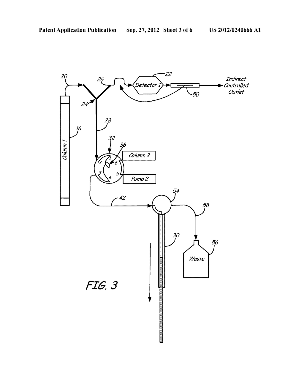 Valve and Splitting System for Multi-Dimensional Liquid Analysis - diagram, schematic, and image 04