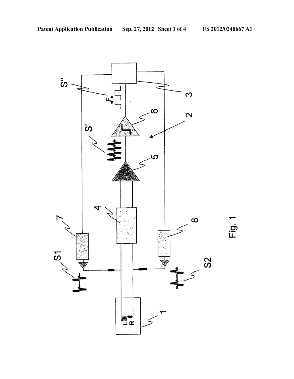 METHOD FOR DETECTING THE FAILURE OF A FREQUENCY SENSOR, AND CIRCUIT FOR     IMPLEMENTING SAID METHOD - diagram, schematic, and image 02
