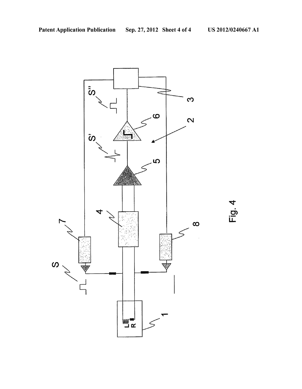 METHOD FOR DETECTING THE FAILURE OF A FREQUENCY SENSOR, AND CIRCUIT FOR     IMPLEMENTING SAID METHOD - diagram, schematic, and image 05
