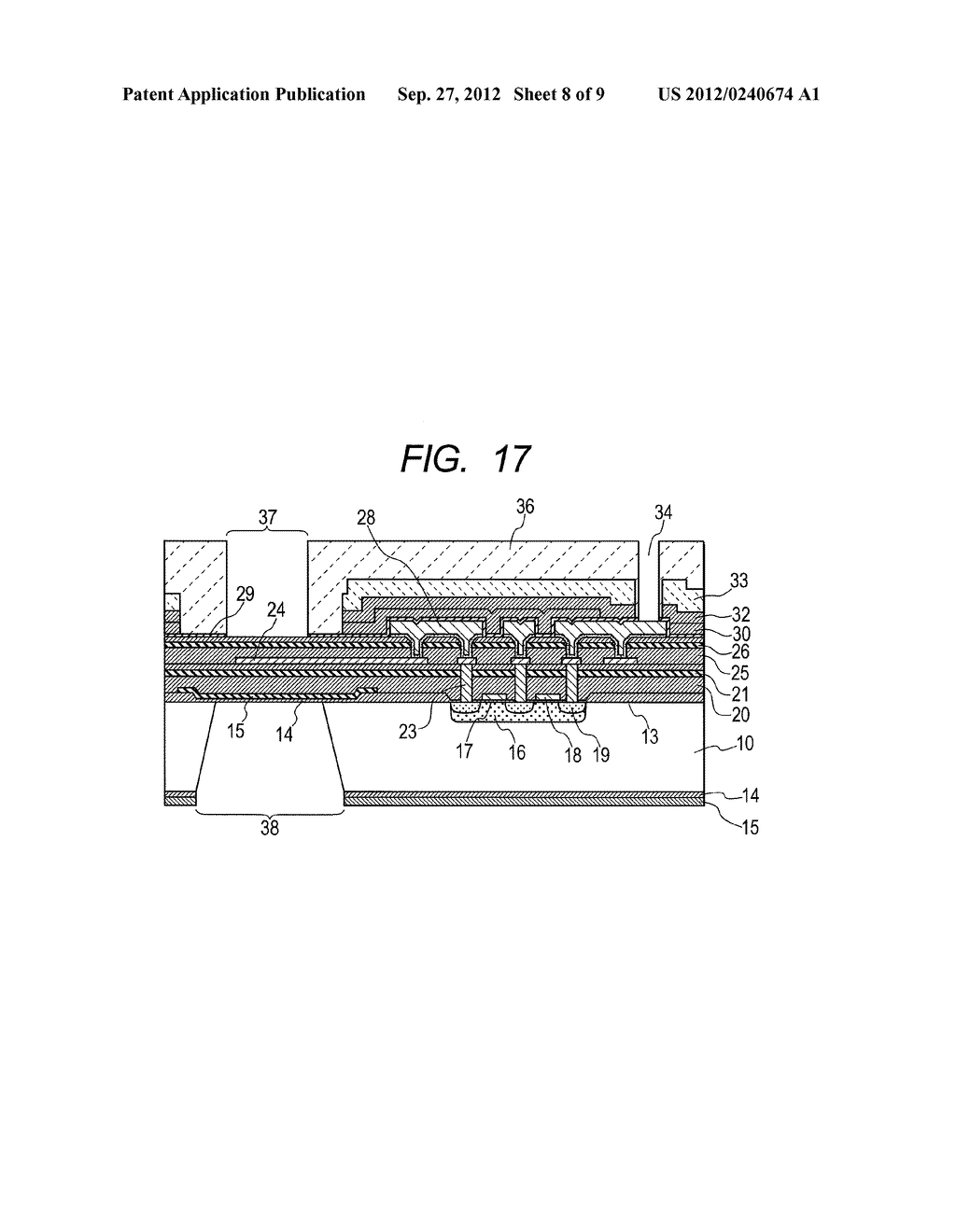 THERMAL FLUID FLOW SENSOR AND METHOD OF MANUFACTURING THE SAME - diagram, schematic, and image 09