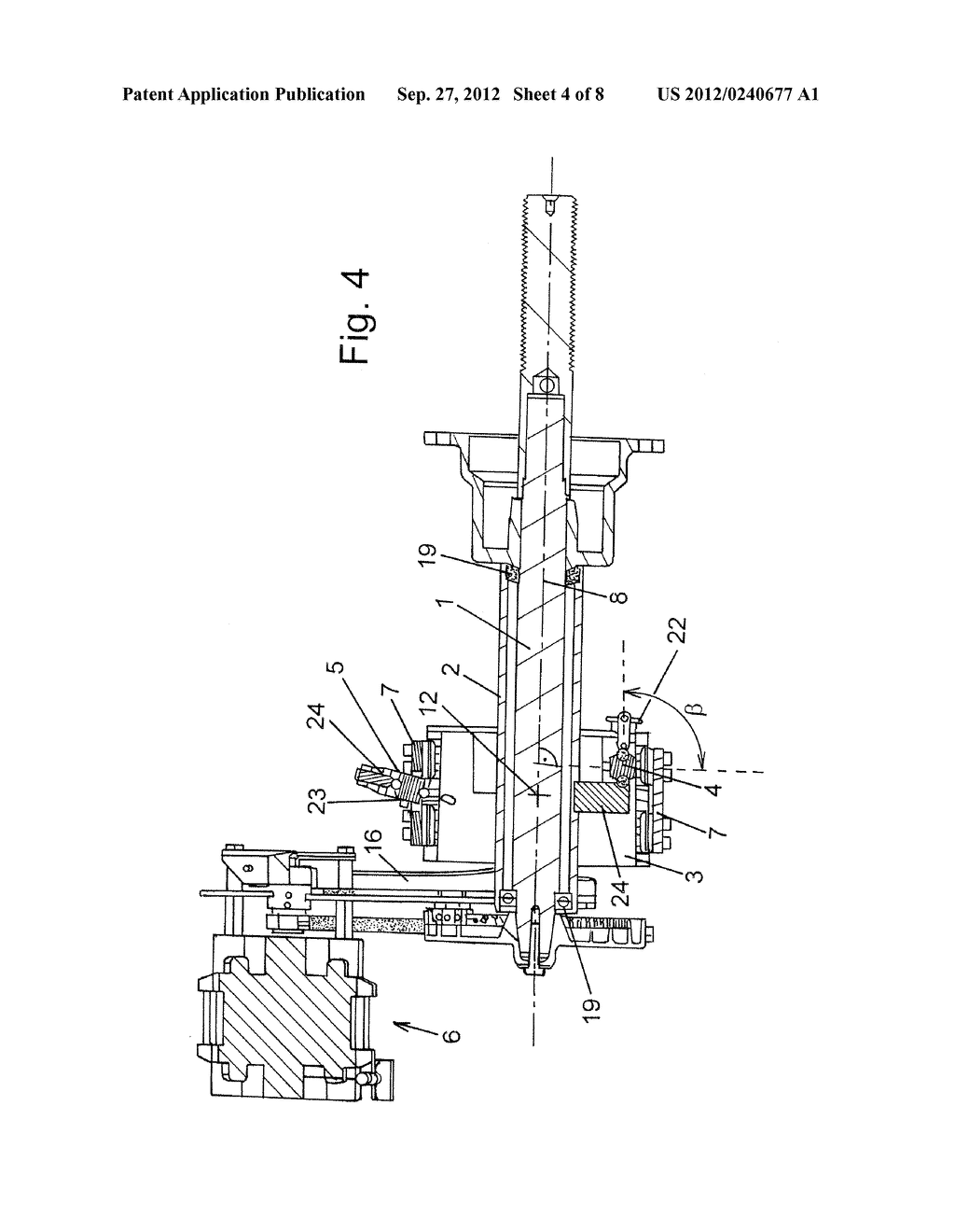 DEVICE FOR MEASURING FORCES GENERATED BY AN UNBALANCE - diagram, schematic, and image 05