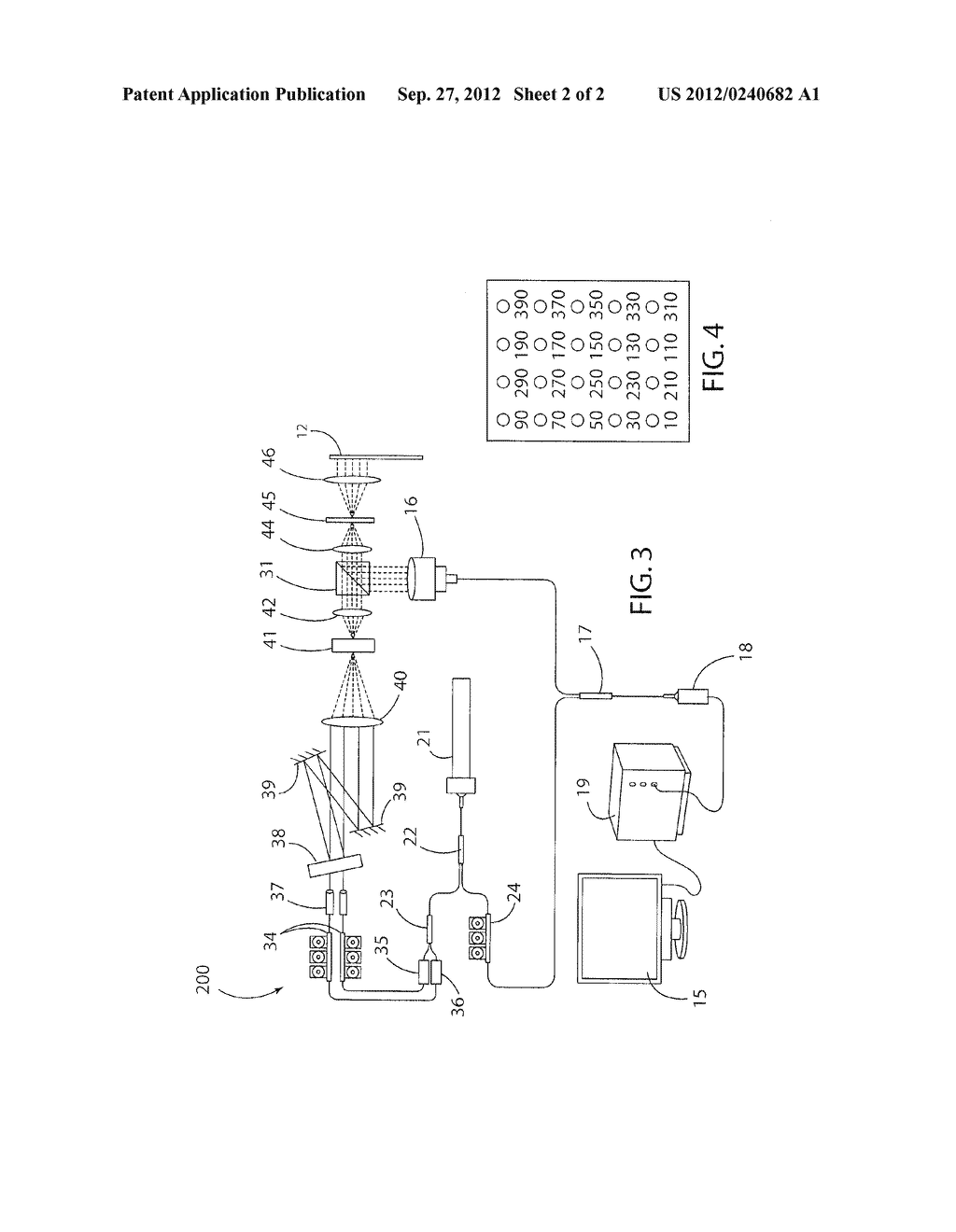 Multipoint Laser Vibrometer with Single Detector - diagram, schematic, and image 03