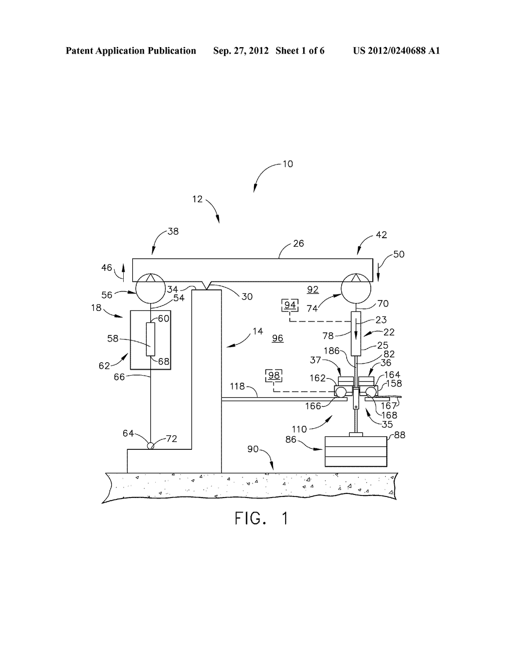 APPARATUS AND METHOD FOR OVER-PEAK LOADING FOR CREEP-RUPTURE TESTING - diagram, schematic, and image 02