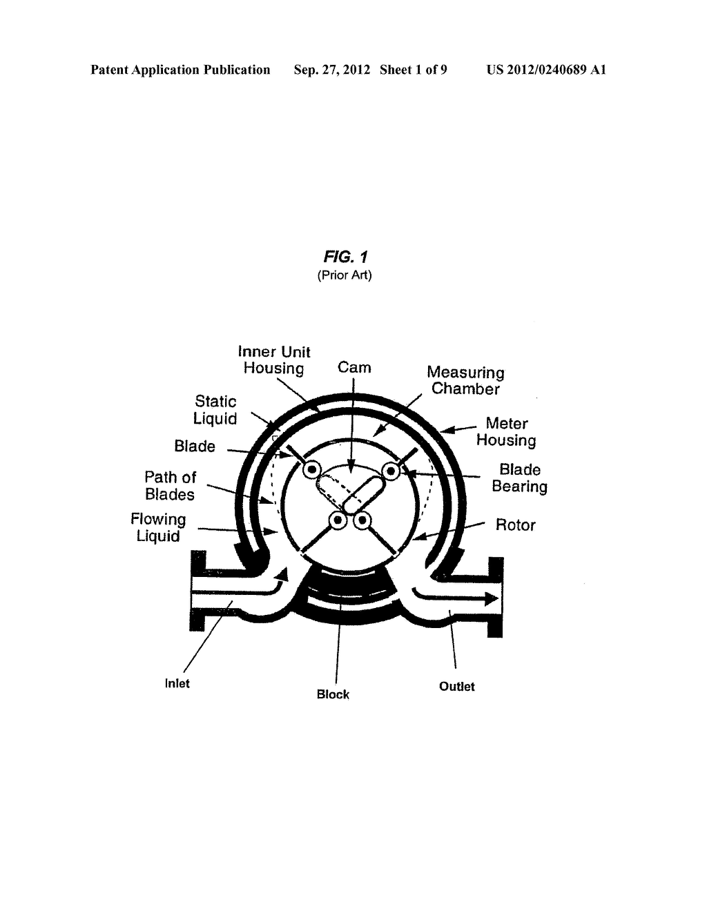 Rotational Measurement System for Fluid Meters - diagram, schematic, and image 02
