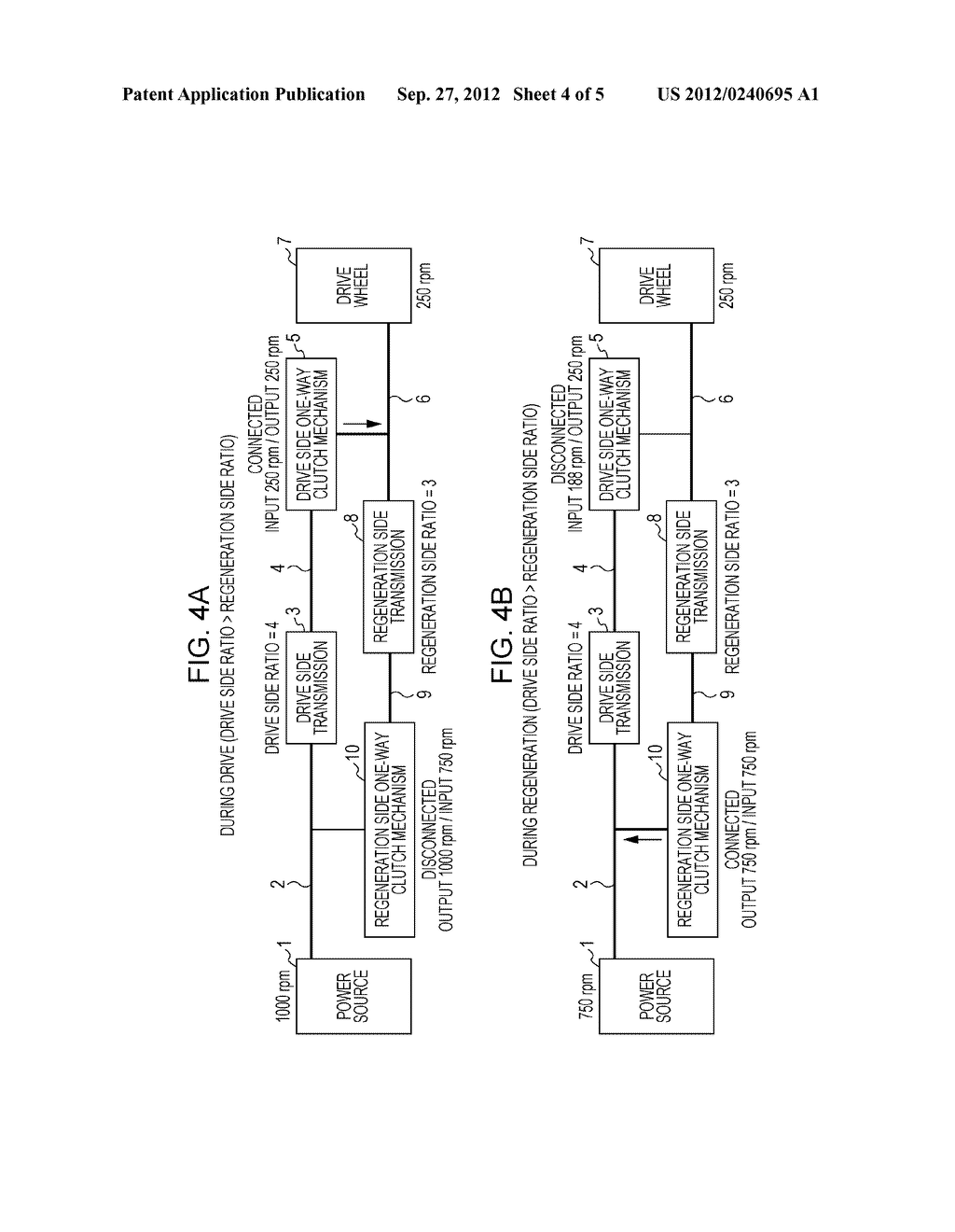 POWER TRANSMISSION APPARATUS AND METHOD FOR CONTROLLING POWER TRANSMISSION     APPARATUS - diagram, schematic, and image 05