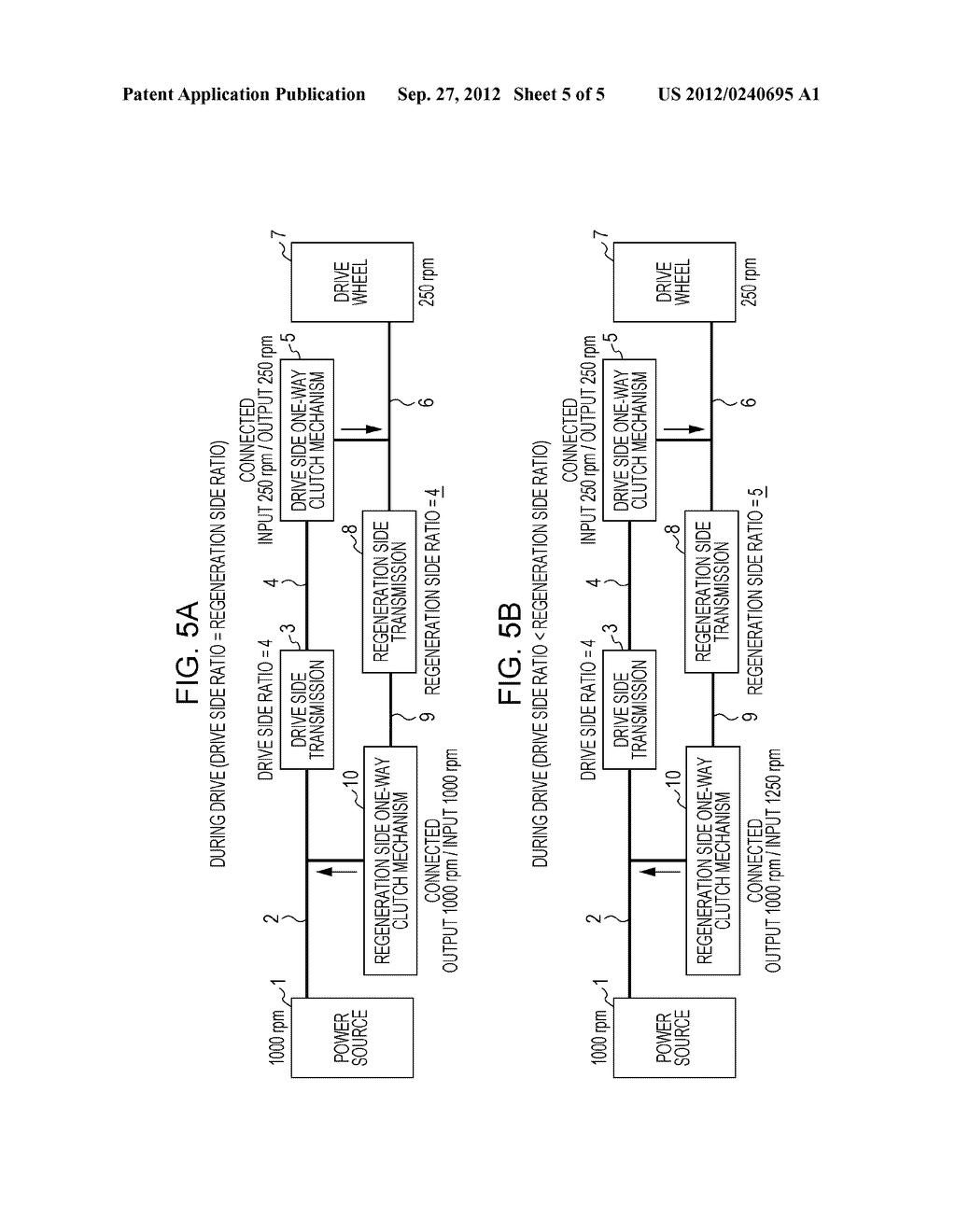 POWER TRANSMISSION APPARATUS AND METHOD FOR CONTROLLING POWER TRANSMISSION     APPARATUS - diagram, schematic, and image 06