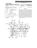 Drive arrangement for a motor vehicle diagram and image
