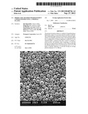 PRODUCTION METHOD FOR HIGH PURITY COPPER POWDER USING A THERMAL PLASMA diagram and image
