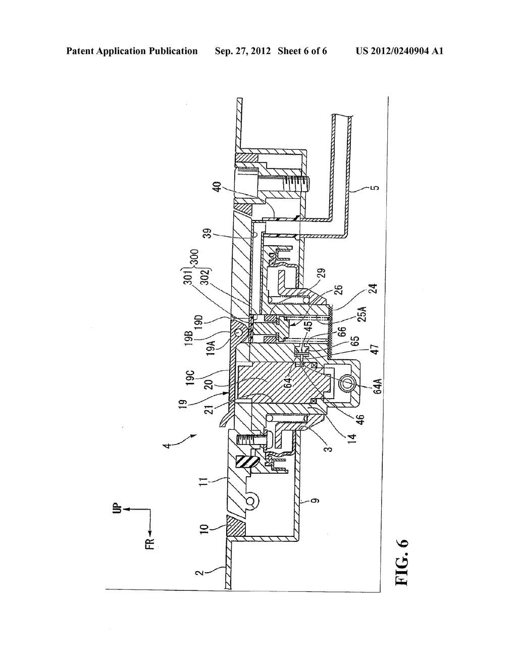 EVAPORATED FUEL TREATMENT DEVICE FOR VEHICLE - diagram, schematic, and image 07