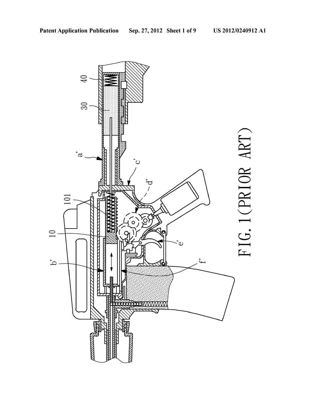 Electric Toy Gun - diagram, schematic, and image 02