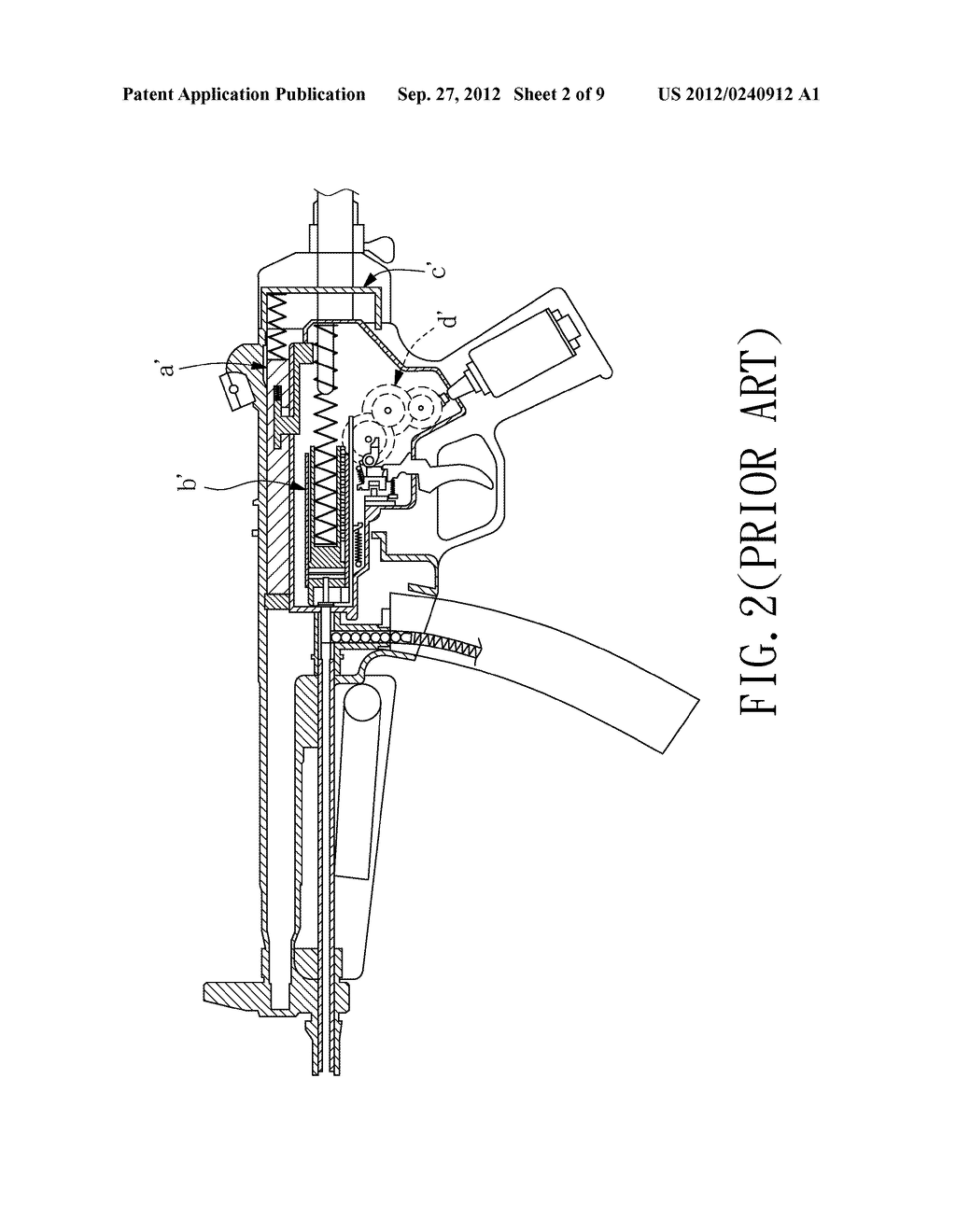 Electric Toy Gun - diagram, schematic, and image 03