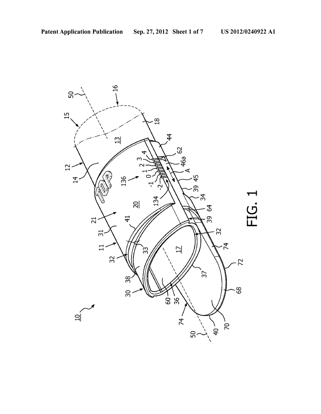APPARATUS AND METHOD COMPRISING ADJUSTABLE STEPPED MOUTHPIECE FOR AEROSOL     DRUG DELIVERY - diagram, schematic, and image 02