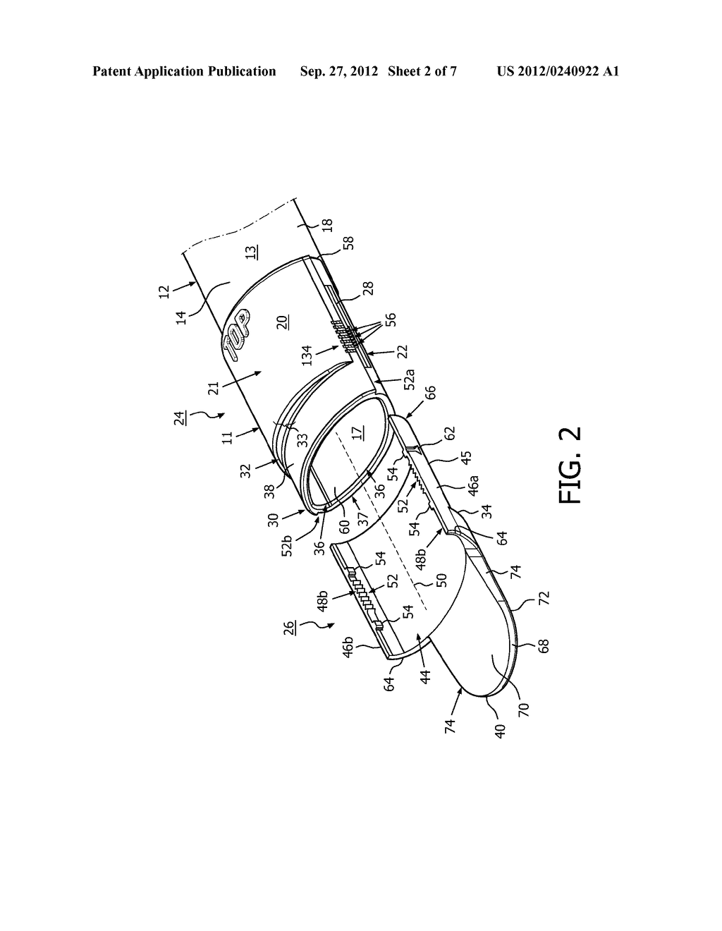 APPARATUS AND METHOD COMPRISING ADJUSTABLE STEPPED MOUTHPIECE FOR AEROSOL     DRUG DELIVERY - diagram, schematic, and image 03