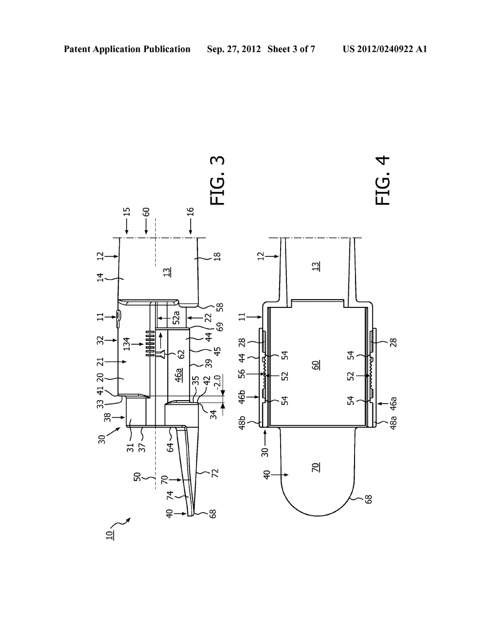 APPARATUS AND METHOD COMPRISING ADJUSTABLE STEPPED MOUTHPIECE FOR AEROSOL     DRUG DELIVERY - diagram, schematic, and image 04