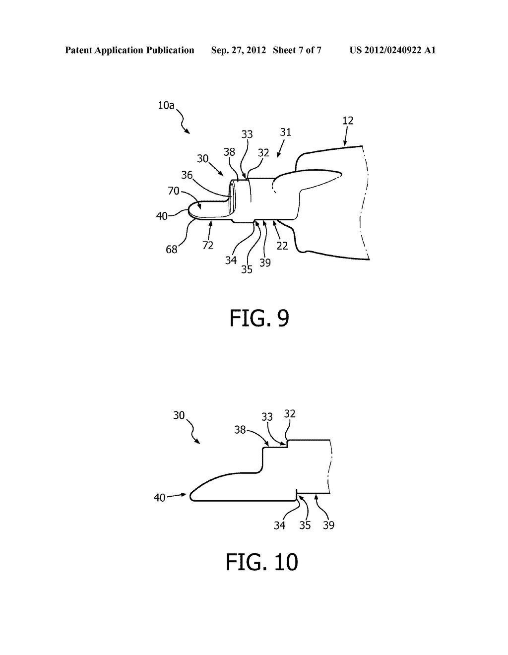 APPARATUS AND METHOD COMPRISING ADJUSTABLE STEPPED MOUTHPIECE FOR AEROSOL     DRUG DELIVERY - diagram, schematic, and image 08