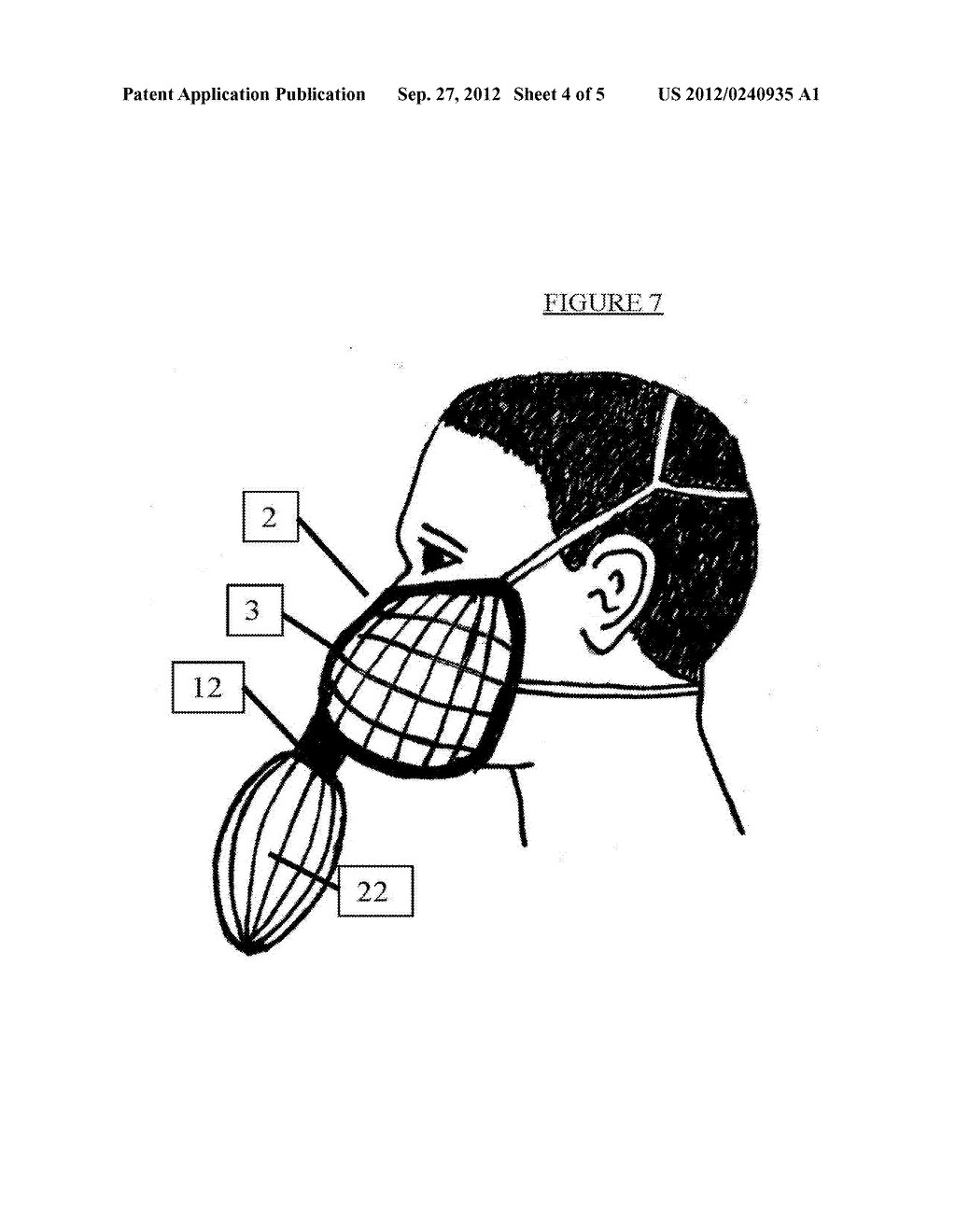 MEDICAL BREATHING MASK - diagram, schematic, and image 05