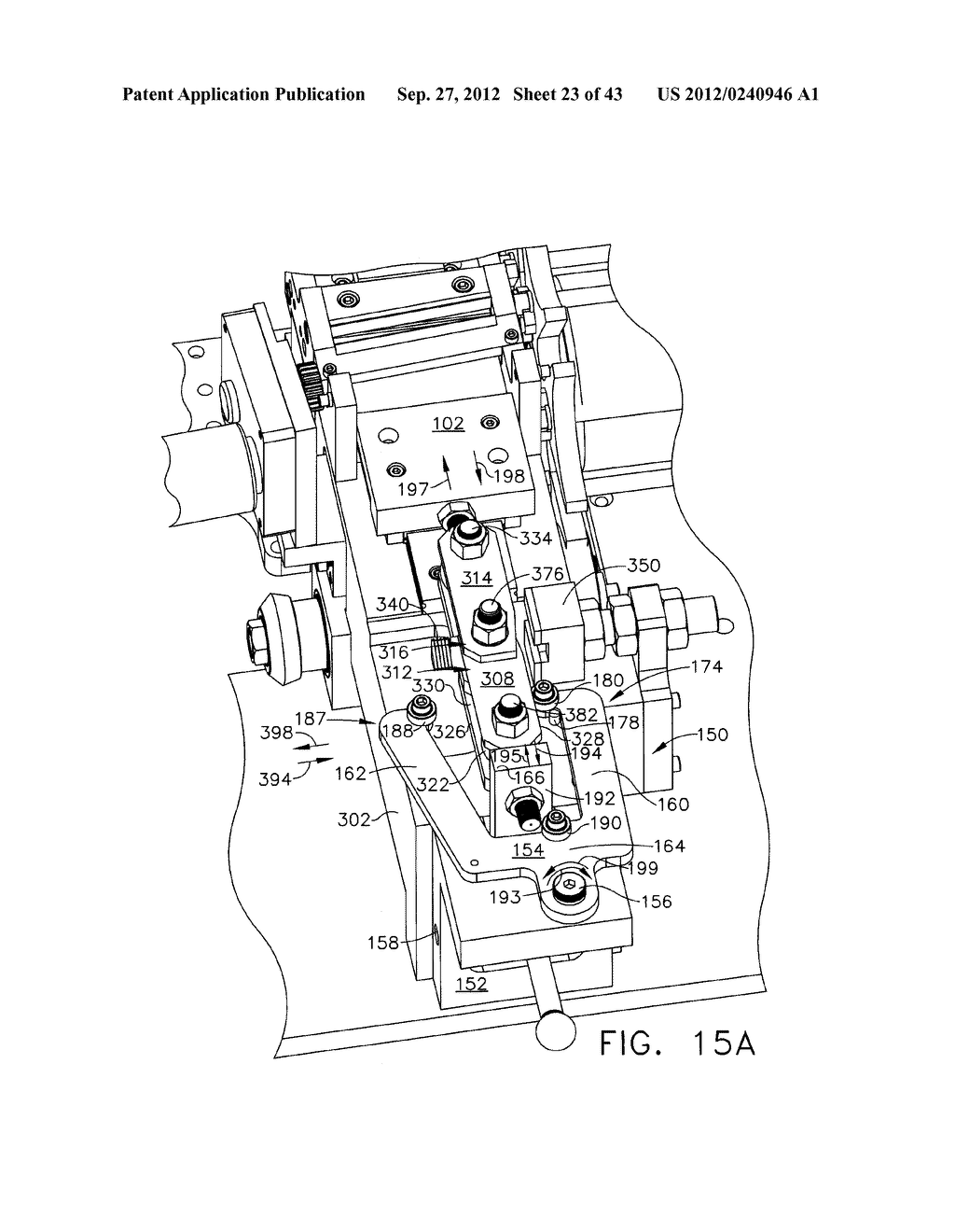 BLANK CIGARETTE TUBE LOCATING AND HOLDING APPARATUS - diagram, schematic, and image 24