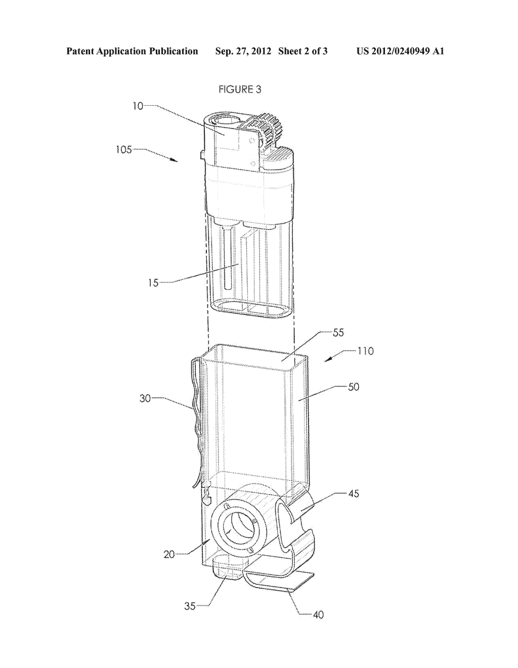 Multi-Purpose Lighter Apparatus - diagram, schematic, and image 03