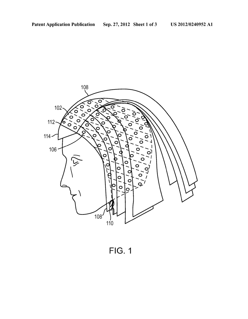 HAIR HIGHLIGHTING DEVICE, SYSTEM AND METHOD - diagram, schematic, and image 02