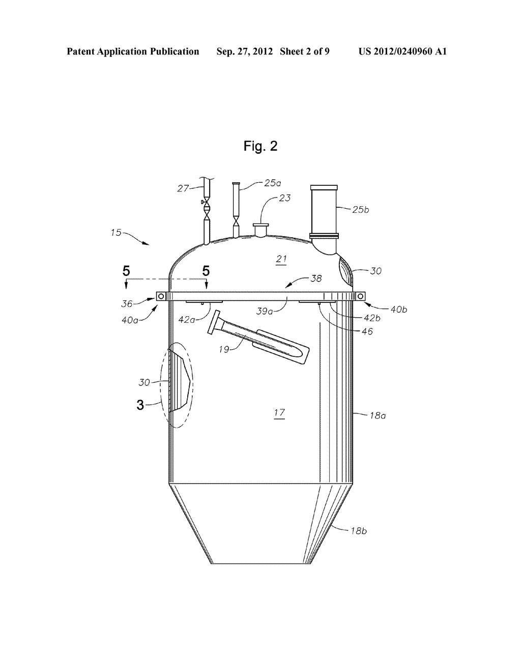 Separation Vessels For Use In Polymerization Processes And Methods For     Cleaning Same - diagram, schematic, and image 03