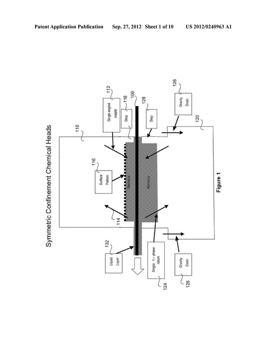 METHOD AND APPARATUS FOR PHYSICAL CONFINEMENT OF A LIQUID MENISCUS OVER A     SEMICONDUCTOR WAFER - diagram, schematic, and image 02