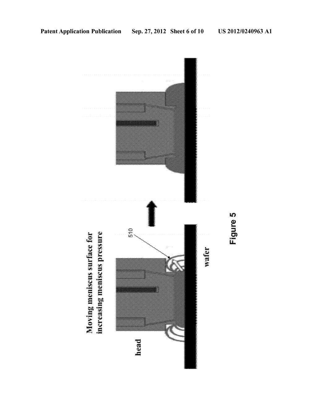 METHOD AND APPARATUS FOR PHYSICAL CONFINEMENT OF A LIQUID MENISCUS OVER A     SEMICONDUCTOR WAFER - diagram, schematic, and image 07
